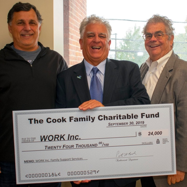 Cook Family Charitable Fund donates